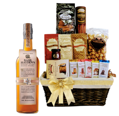 Bourbon Sippers Gift Basket