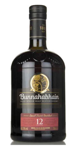 Bunnahabhain 12 Year Scotch