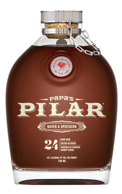 Papa's Pilar Bourbon Barrel Finished