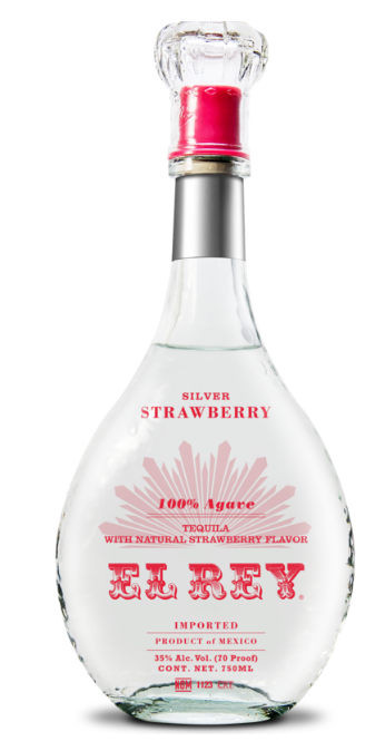 El Rey Silver Strawberry Tequila
