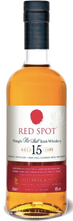 Red Spot 15 Year Irish Whiskey