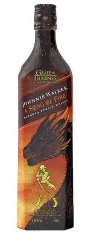 Johnnie Walker A Song of Fire (Limited Game of Thrones Edition)