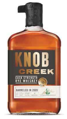Knob Creek Rye Cask Strength Bourbon