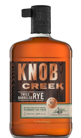 Knob Creek Rye Twice Barreled Bourbon