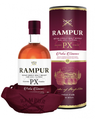 Rampur PX Sherry Finish Limited Single Malt Whiskey