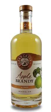 Clear Creek White Label 2 Year Old Apple Brandy
