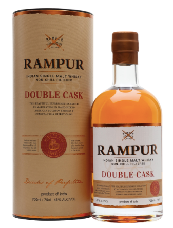 Rampur Double Cask Single Malt Whiskey