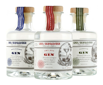 St. George Gin Gift Set Sampler (3 x 200ML)