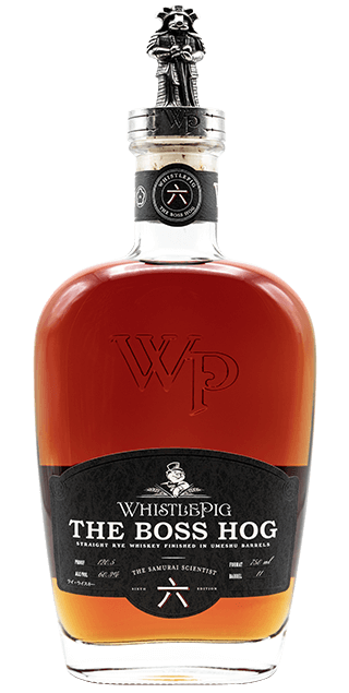 Whistlepig The Boss Hog Samurai Scientist Whiskey