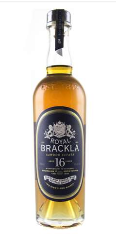 Royal Brackla 16 Year Single Malt Scotch Whiskey