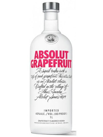 Absolut Grapefruit Vodka