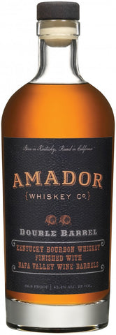 Amador Double Barrel Bourbon - Wine Globe