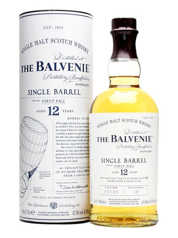 Balvenie Single Malt Scotch 12 Year Single Barrel - Wine Globe