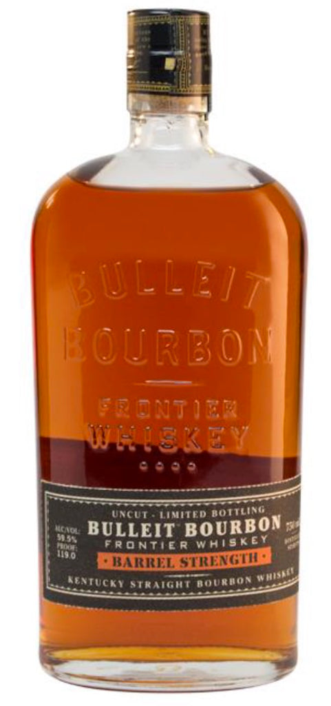 b0782c91322 Bulleit Barrel Strength Kentucky Bourbon