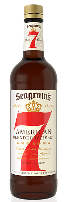 Seagrams 7 Crown Whiskey