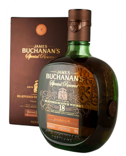 James Buchanan's Special Reserve 18 Year Scotch