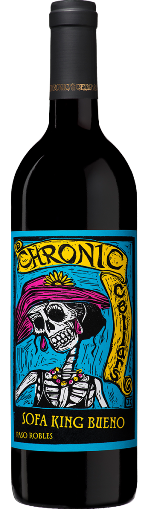 Chronic Cellars Sofa King Bueno Red 2017