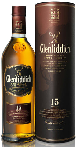 Glenfiddich 15 Year Solera Reserve Single Malt Scotch