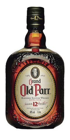 Grand Old Parr 12 year Scotch Whisky