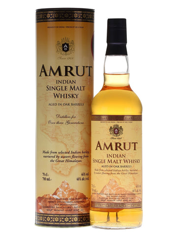 Amrut Single Malt Whiskey - Wine Globe