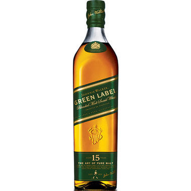 Johnnie Walker Green Label 15 year Scotch Whisky - Wine Globe