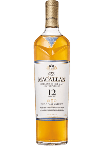 Macallan 12 Year Triple Cask Single Malt Scotch