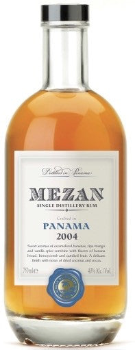 Mezan Panama Rum 2004 80 Proof
