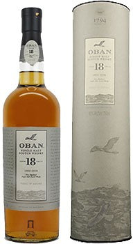 Oban 18 Year Single Malt Scotch Whisky