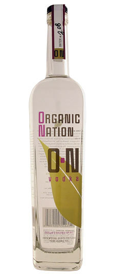 Organic Nation O-N Vodka