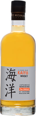 Kaiyo The Single 7 Year Mizunara Oak Japanese Whisky