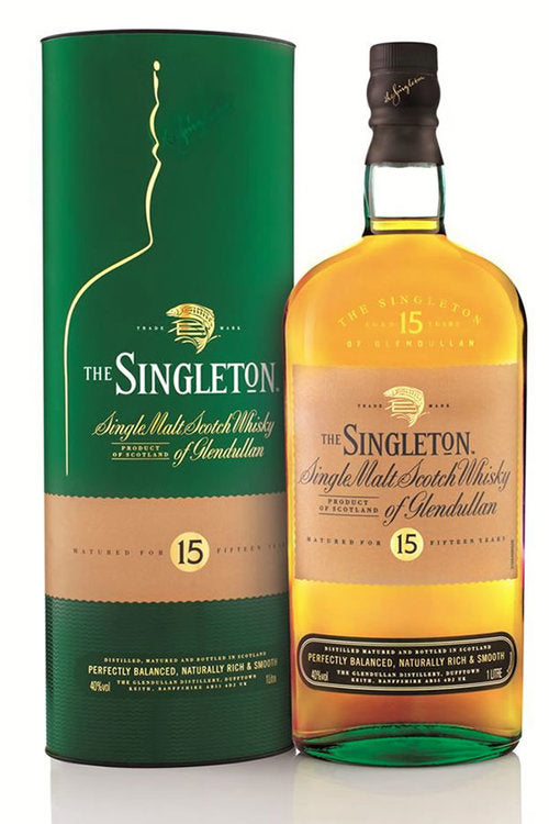 Singleton of Glendullan 15 Year Single Malt Scotch