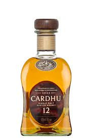 Speyside Cardhu Single Malt Scotch 12 Year