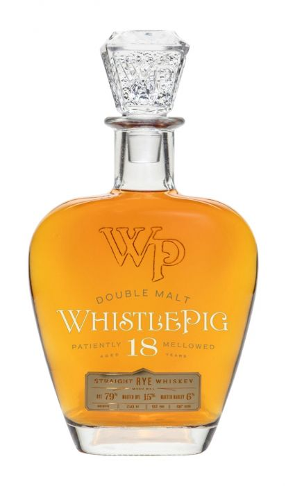Whistlepig Double Malt Rye 18 Year