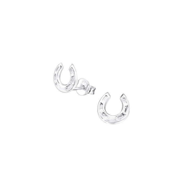 Lost Horseshoe Earrings - .925 Sterling Silver