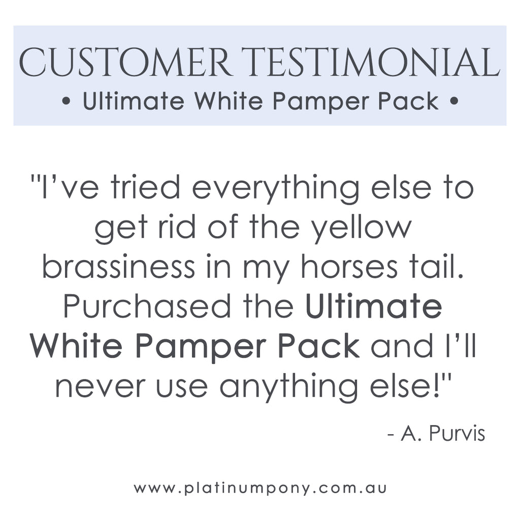Ultimate White Pamper Pack