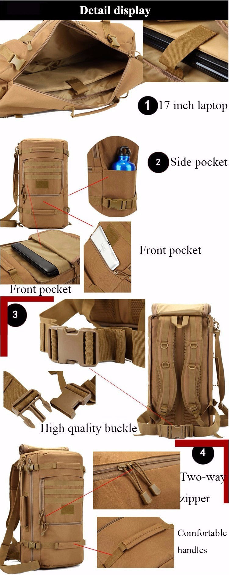 5c062de30 ... Nomad - The Ultimate Carry-on Luggage/Backpack (Multiple Designs) ...