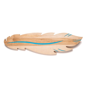 BID Feather Shaped Maple Serving Board