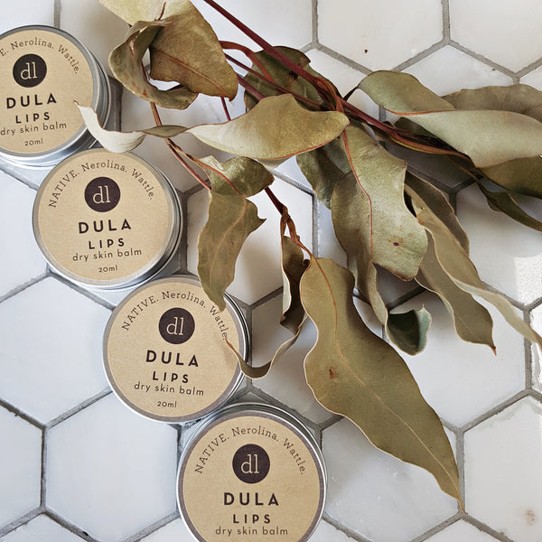 Dry skin balm DULA, vegan skincare, clean skincare, natural, clean beauty, Australian made, no nasties