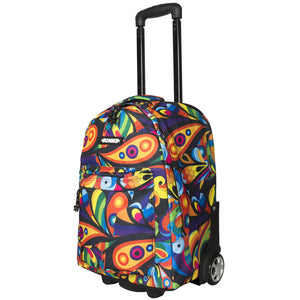 Bonne Exuberance girls travel trolley, weekend bag, travel bag, carry-on bag, air travel bag for kids, teens, adults