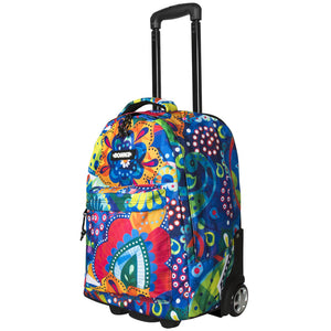 Bonne Crystal girls travel trolley, weekend bag, travel bag, carry-on bag, air travel bag for kids, teens, adults