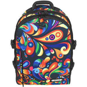 Bonne Exuberance Heavy Duty Laptop Backpack, Travel Backpack, School Bag, Book Backpack