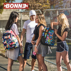 girl and boys with BONNE laptop backpack, notebook backpack, backpack, travel backpack, best backpacks, backpack kid, school backpack, kids backpacks australia, buy backpack, day backpacks, backpacks australia