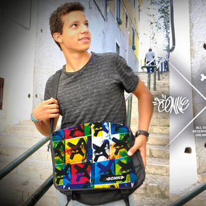 boy showing off messenger bags, laptop messenger bags, satchel bag, side bags, man satchel, small messenger bag, courier bag