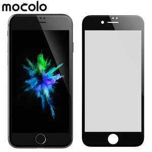 Anti-Spy Privacy Black Mocolo 9H hardness 3D curved high definition HD tempered glass screen protector for iphone 7
