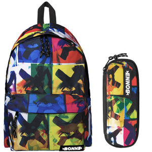 Backpack & Pencil Case Value Pack - X-Eyes
