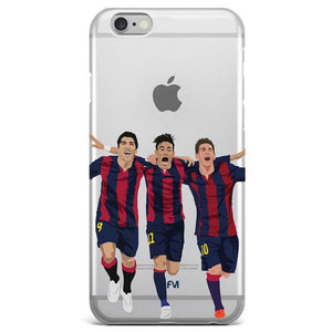 Messi Neymar Suarez - MSN - FC Barcelona - Football - Soccer | Phone Case