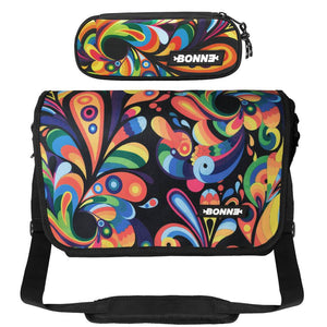 Messenger Bag Pencil Case - Value Pack - Exuberance