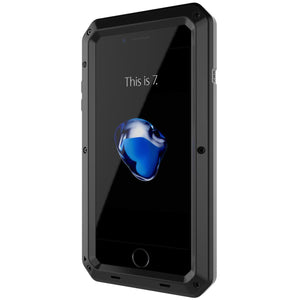 Heavy Duty Military Style Phone Case - iPhone 7 Plus - Black