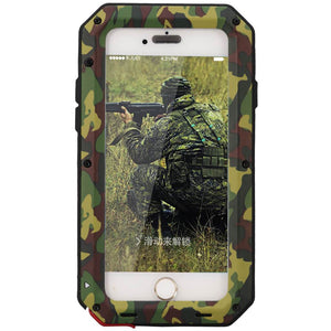 Heavy Duty Protective Phone Case - iPhone 6Plus/6sPlus - The Tank Camo - Military Style