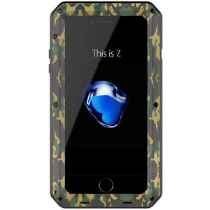 Heavy Duty Protective Phone Case - iPhone 7 Plus - The Tank Camo - Military Style